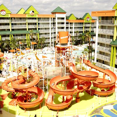 Lagoon Pool at Nickelodeon Suites Resort