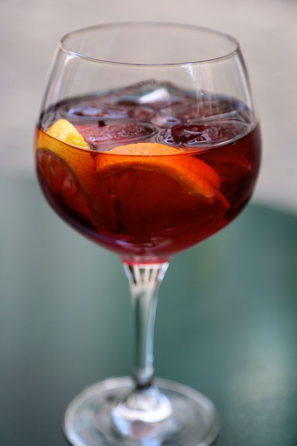 Glass of Red Wine Sangria