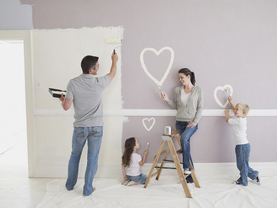 how to paint designs on walls and ceilings - Painting On Walls