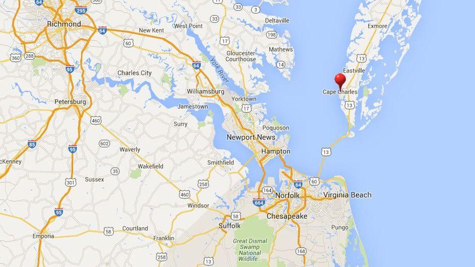Chesapeake Bay Bridge Tunnel Virginia Beach Va Toll
