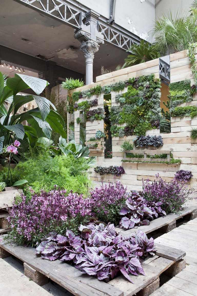 Muebles de palets para el jardín y la terraza