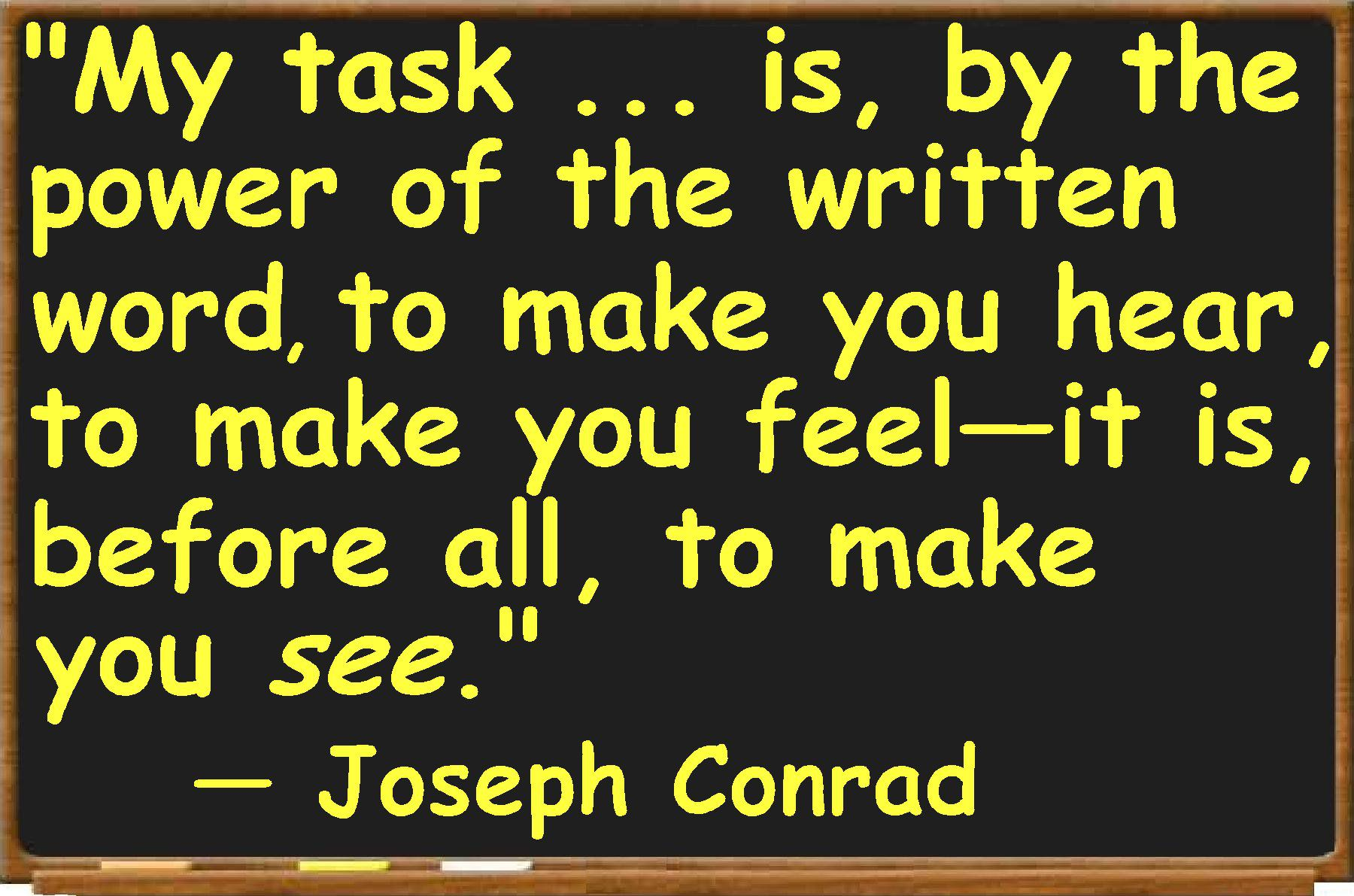 """joseph conrad writing style In joseph conrad's """"heart of darkness,"""" both a modernist style of writing and the impressionistic style for which conrad is."""