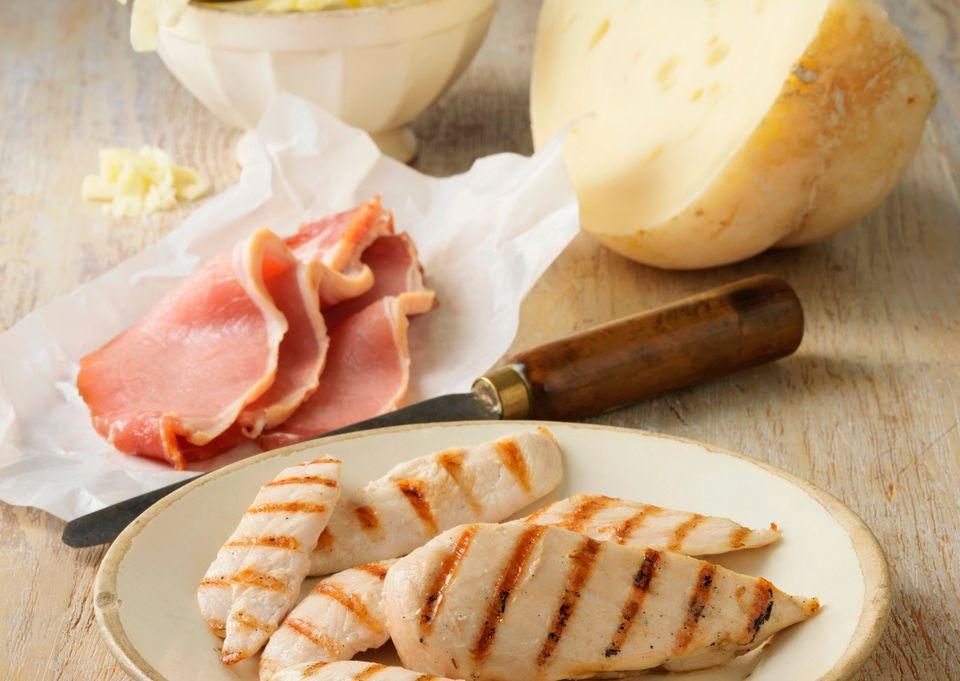 Chicken, Ham, and Swiss Cheese