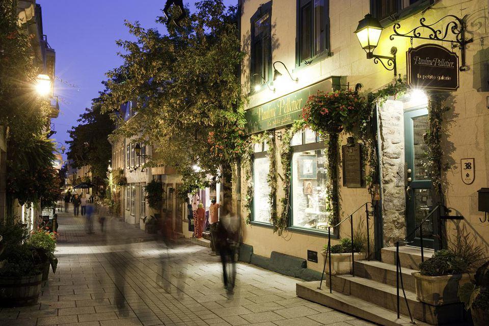 Historic old quarter, Quebec City