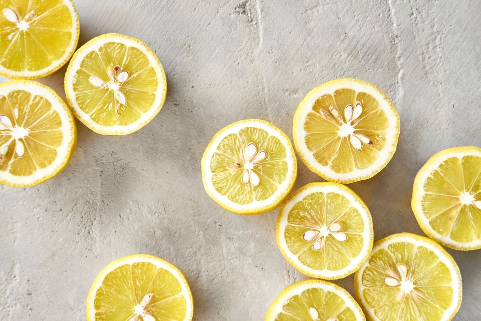 lemon juice as an all natural cleaner