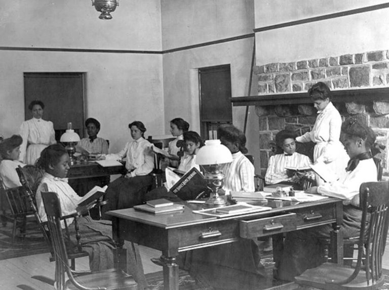 The Institute for Colored Youth archival image