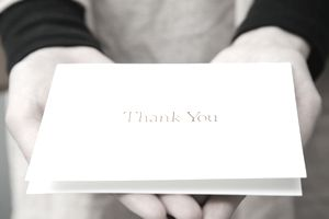 Business Thank You Letter Example and Tips