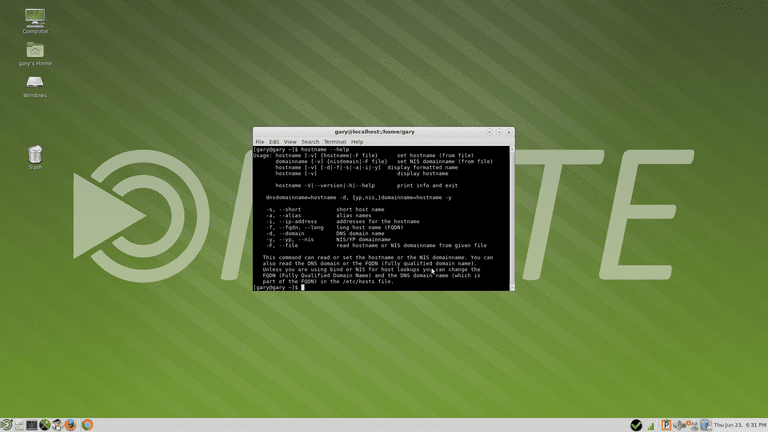 The Linux Hostname