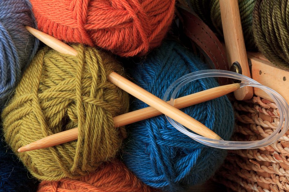 Knitting Needles No : Knitting needle sizing information