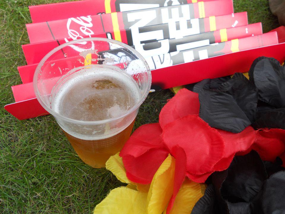 German Soccer Fan Gear.JPG