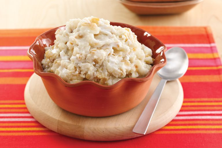 the scoop on low calorie mashed potatoes