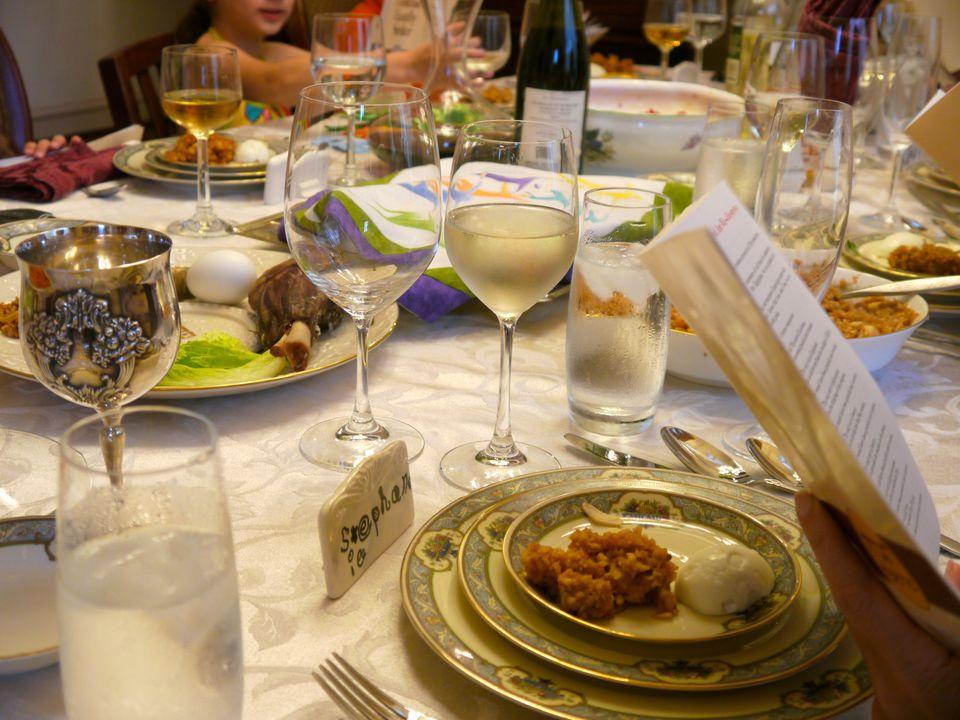 Passover meal atl10trader via Creative Commons at https://www.flickr.com/photos/davidmarcel/