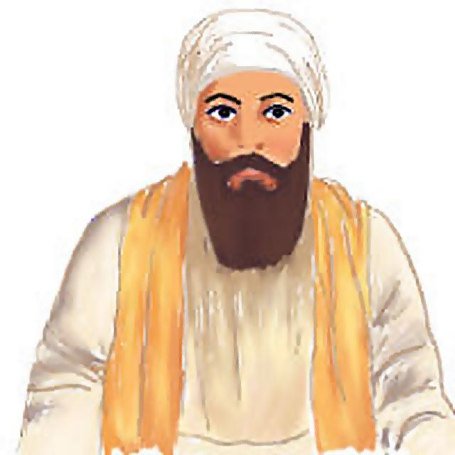 Artistic Impression of Second Guru Angad Dev