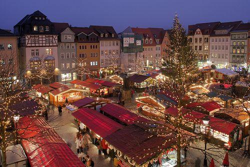 German Christmas Market, Jena