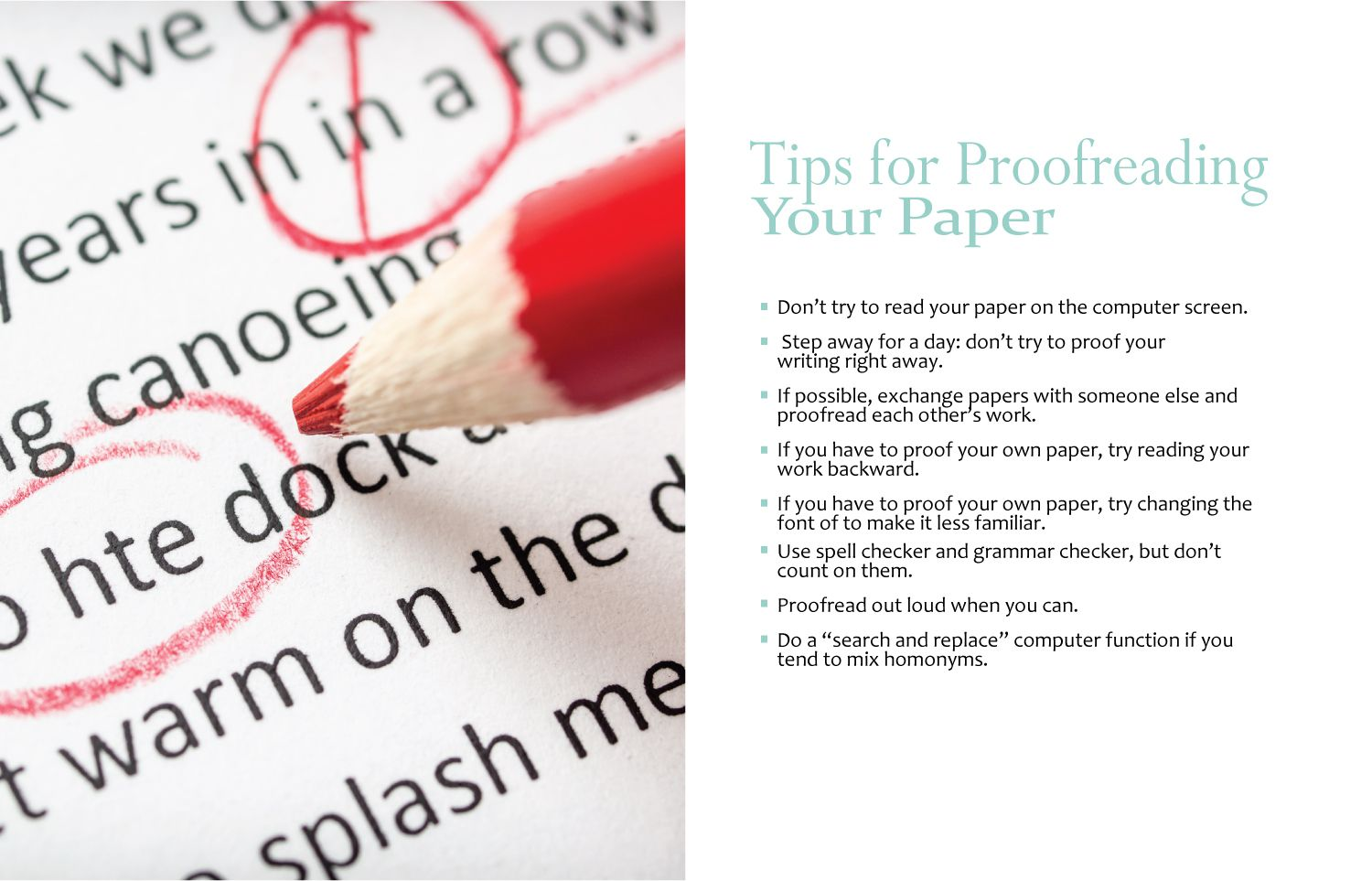 narrative essay revision and editing checklist tips for proofreading your paper 1 jpg
