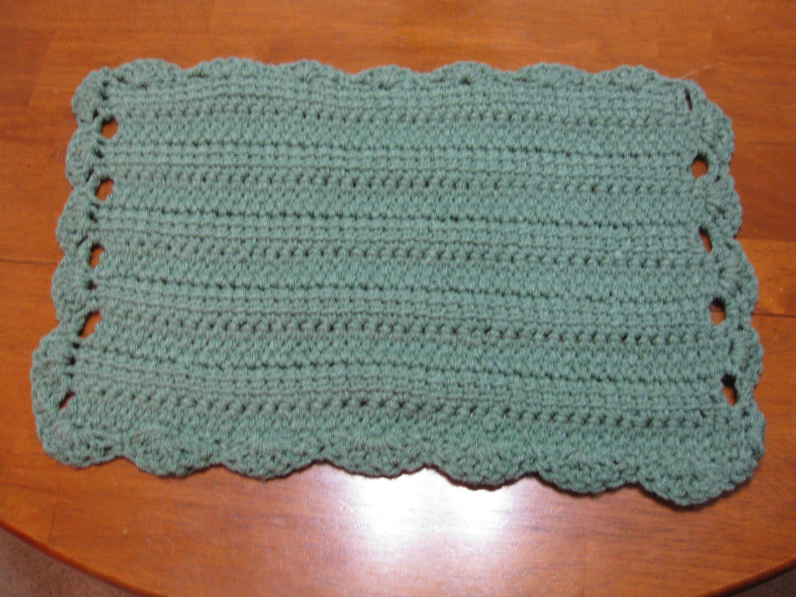 10 free crochet placemat patterns bankloansurffo Gallery