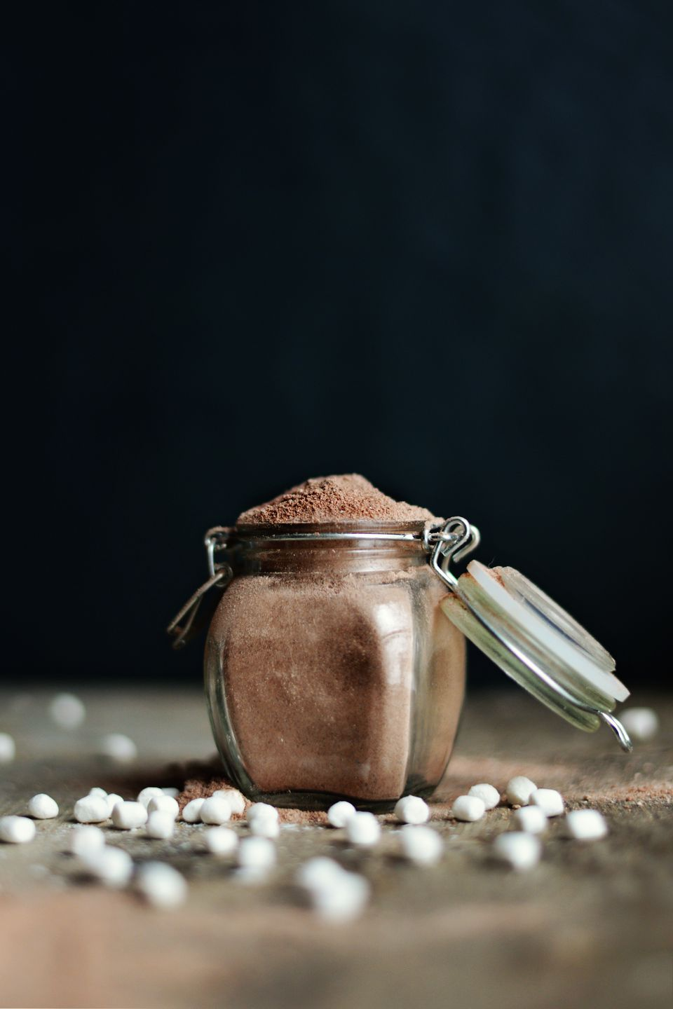 Hot cocoa mix with marshmallows