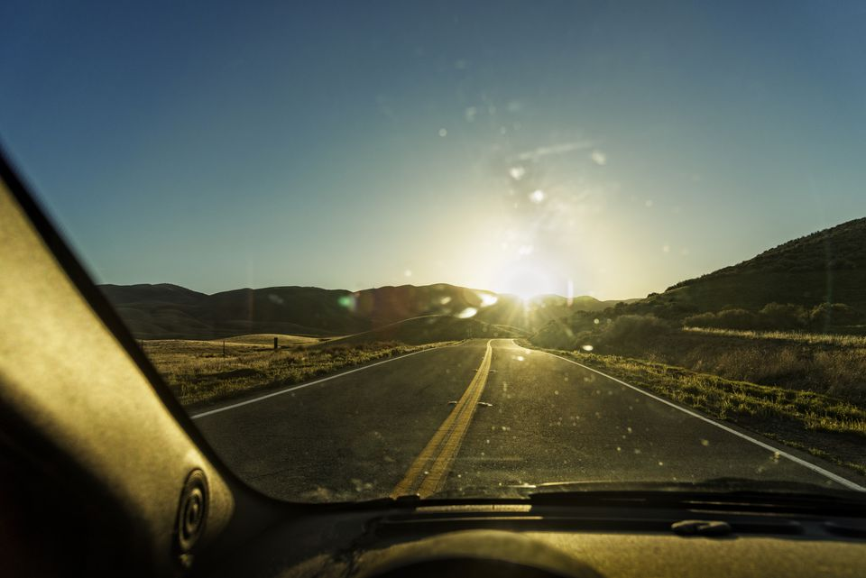 The Sun Can Make Your Windshield Very Hot