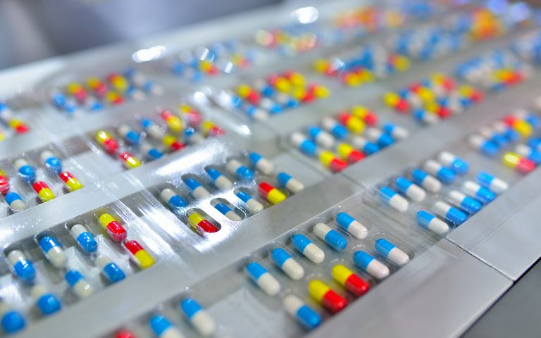 Capsule Package Production Line