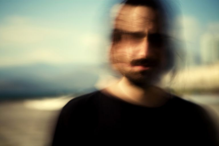 portrait of a man with blurred edges