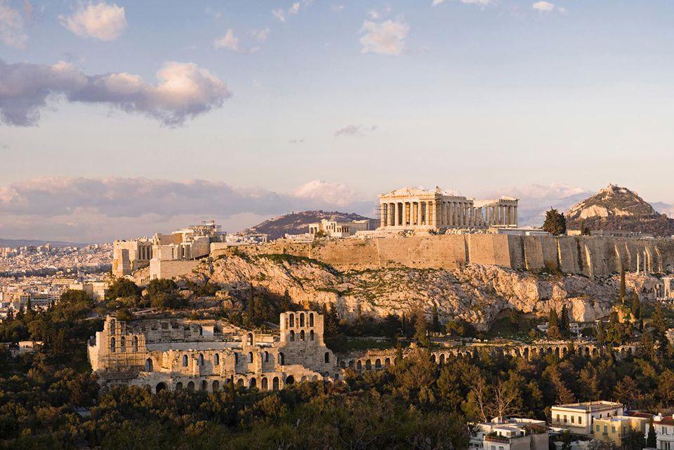 Athens, the Acropolis and Parthenon