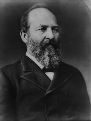 James Garfield, Twentieth President of the United States
