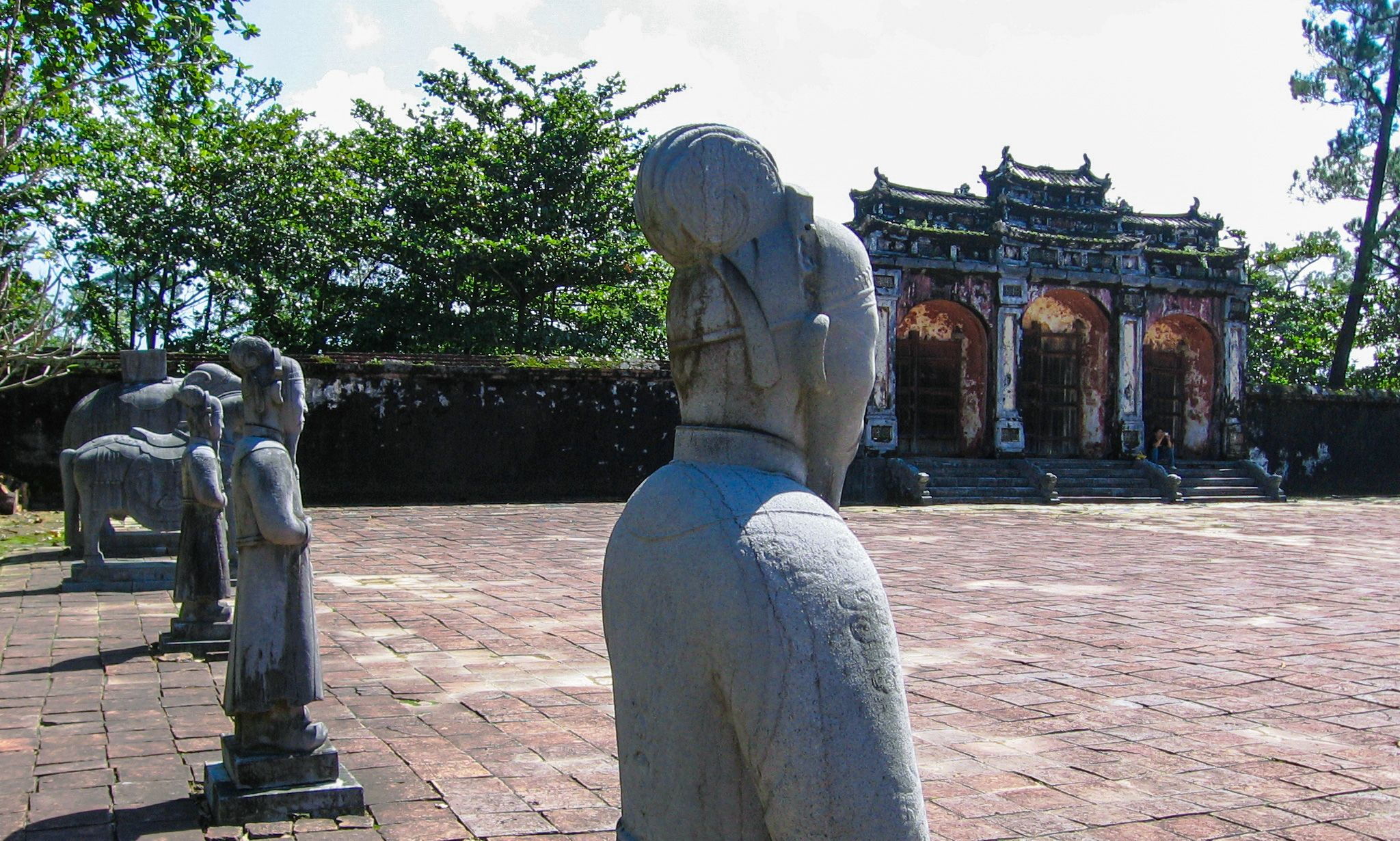 Minh Mang's Royal Tomb in Hue, Vietnam is a Masterpiece of Balance
