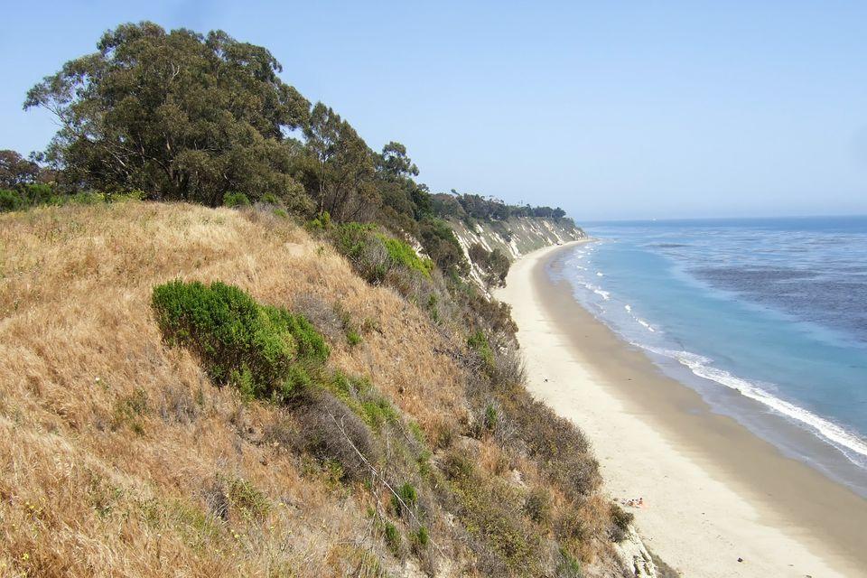 View of More Mesa Beach