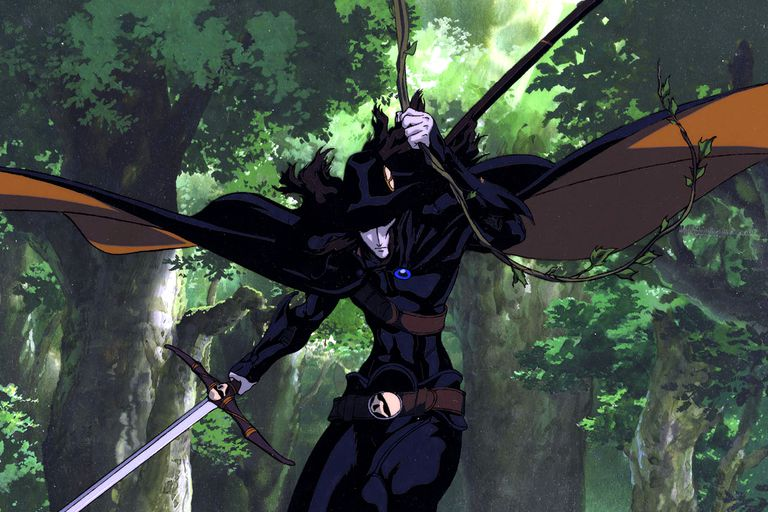 Vampire Hunter D Anime