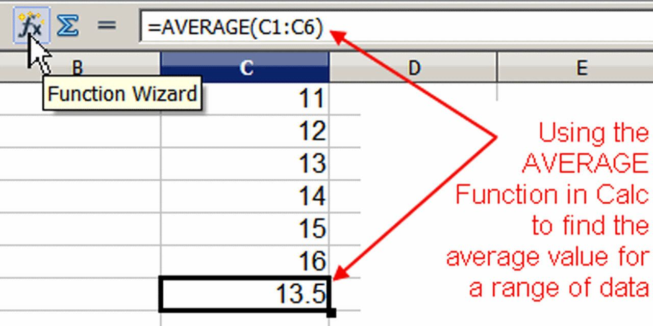 how to write functions in openoffice