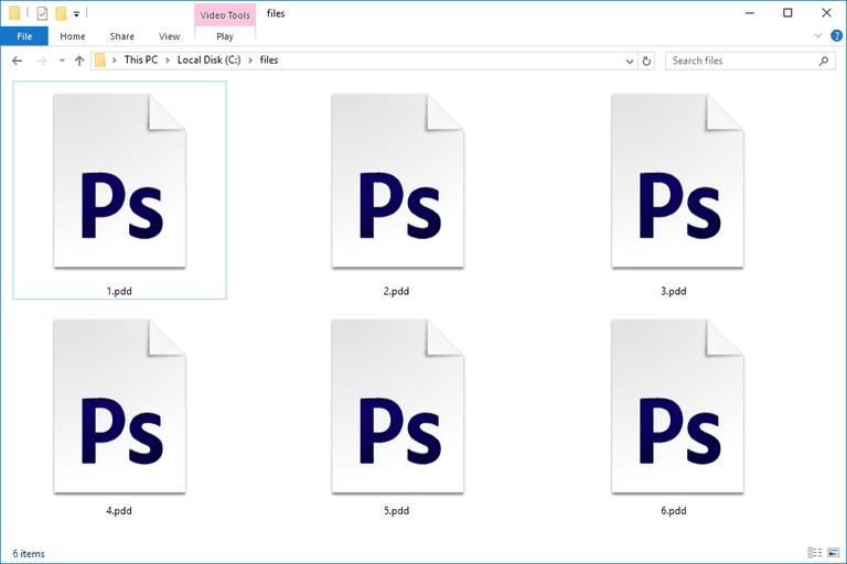 PDD Files