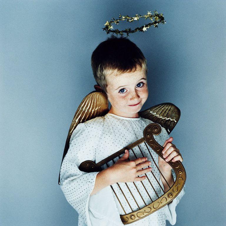 boy child kid angel
