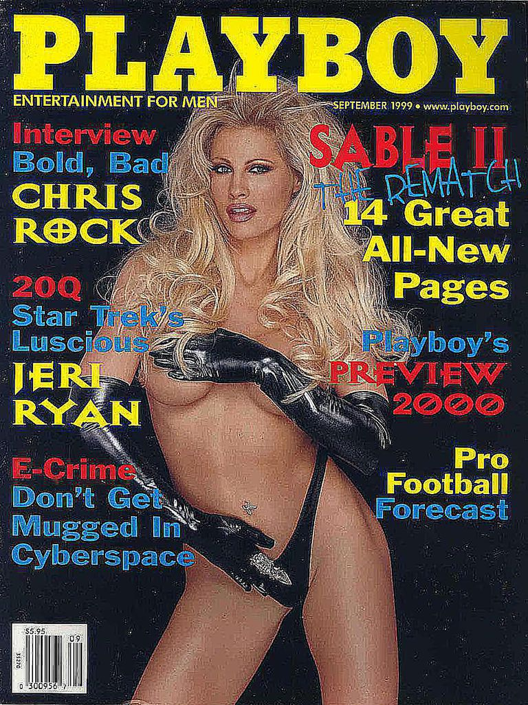Playboy Cover - Featuring Sable