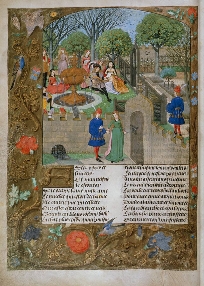 Illustration for Roman de la Rose