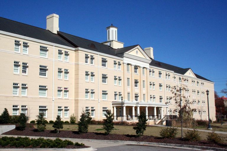Residence Hall at the University of South Carolina