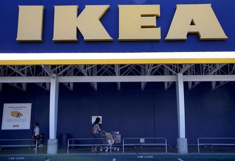 IKEA storefront