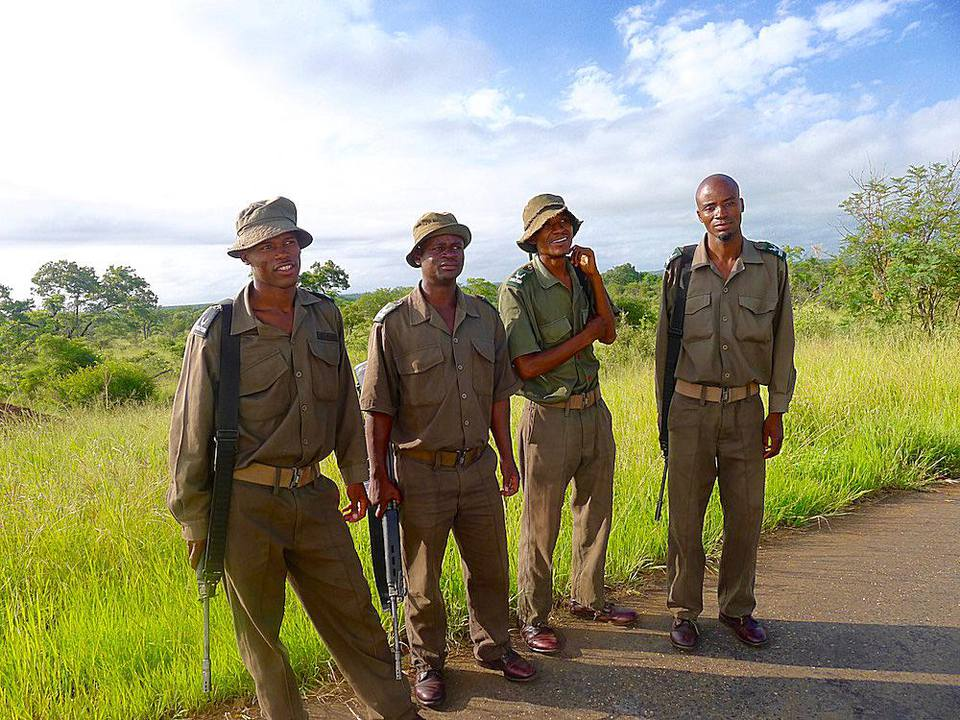 anti-poaching squad in South Africa