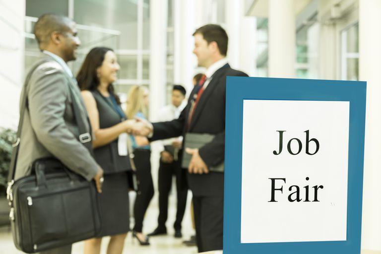 Class Job Fair ESL Lesson Plain