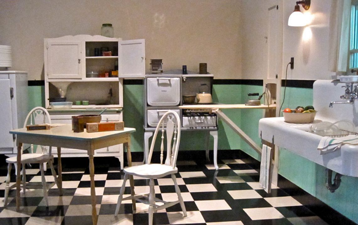 1930S Kitchen Design Kitchens From The 1930S And 1940S
