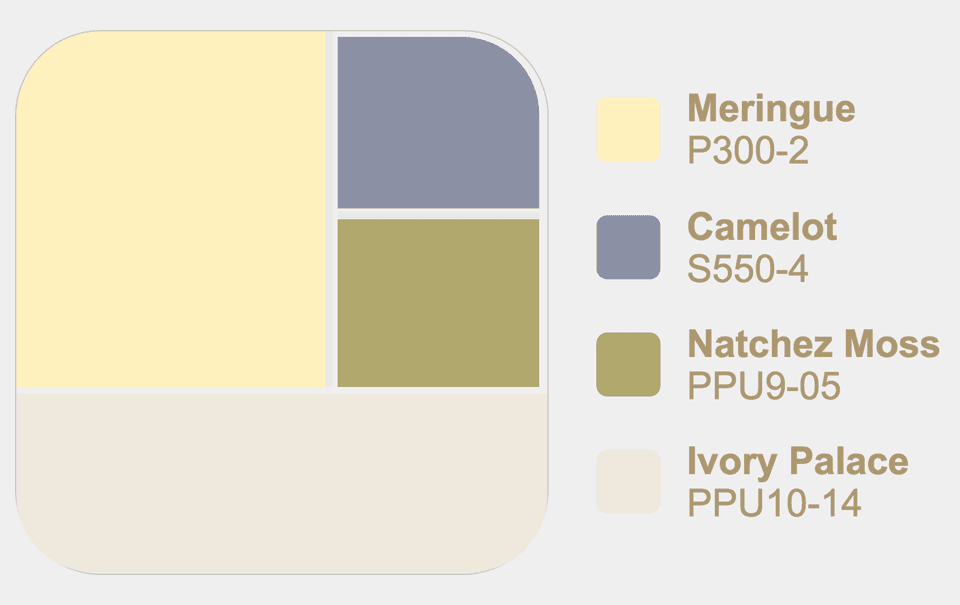Behr Meringue In A Neutral Paint Palette