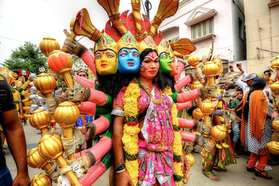 Bonalu parade