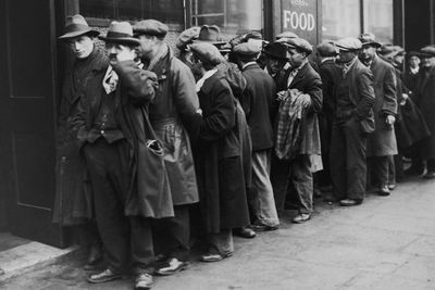 great depression what happened causes how it ended depression soup line
