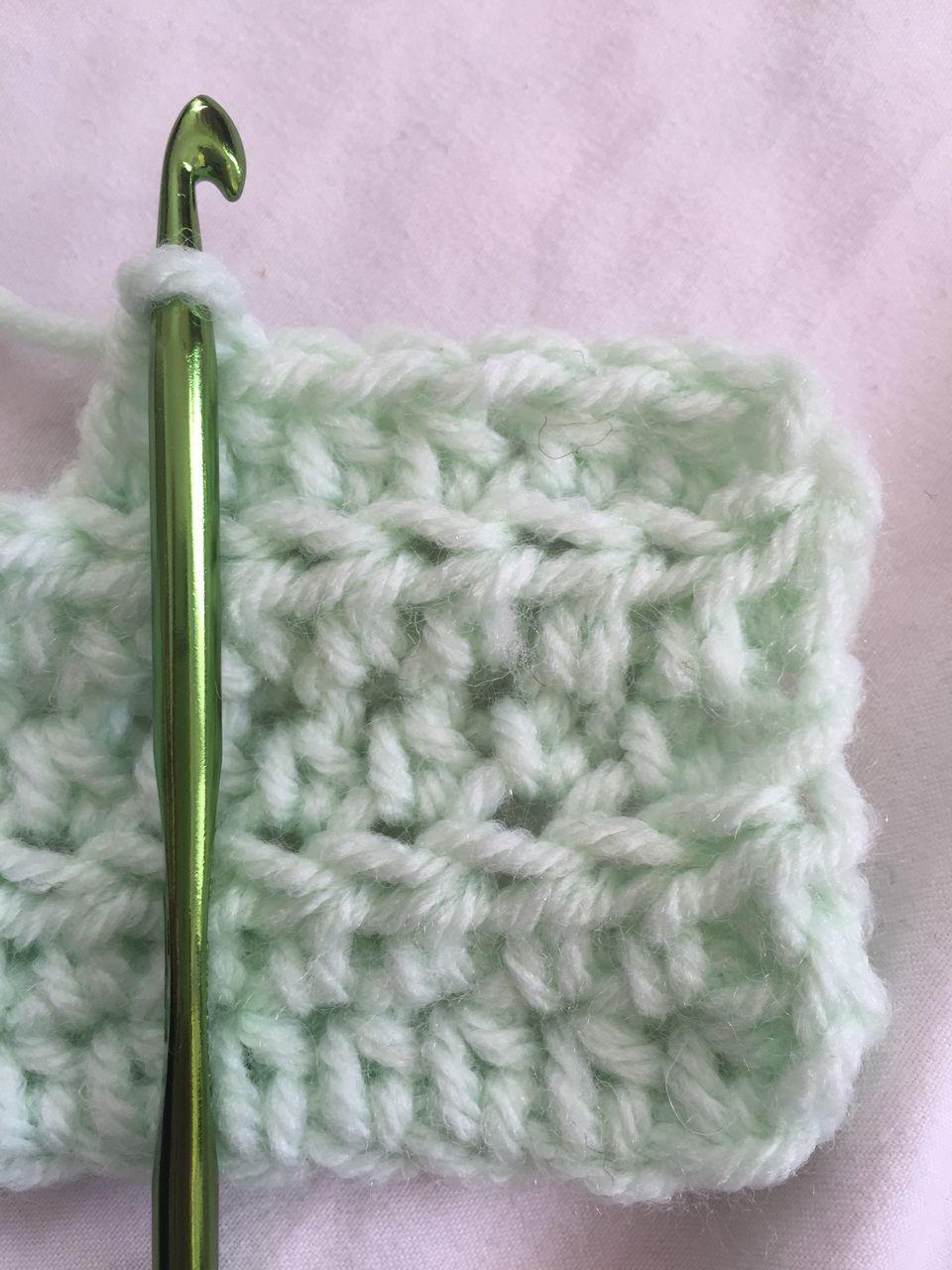 How to Crochet Half Double Crochet Stitch (HDC)