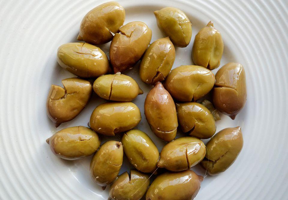 Small Cretan Green Olives