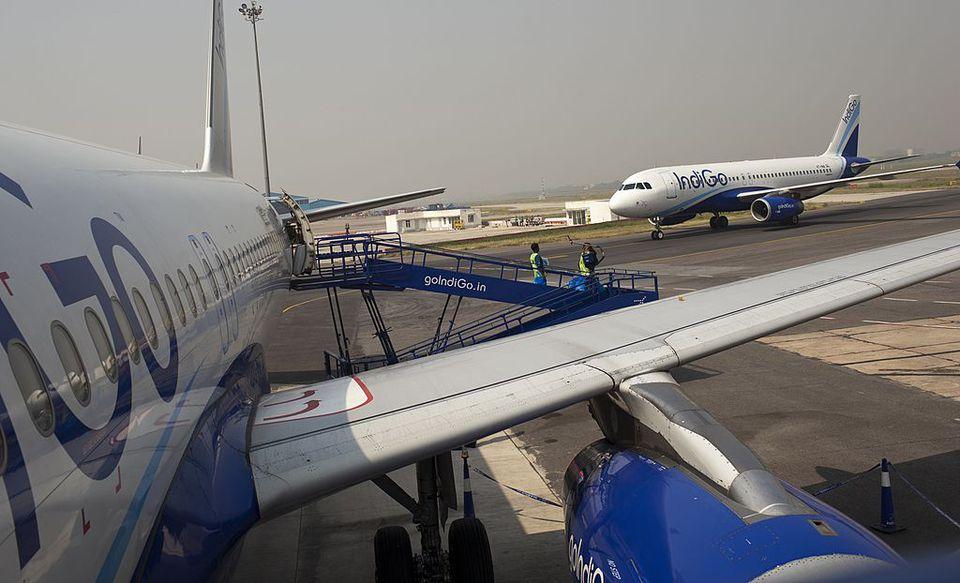 Indigo airlines.