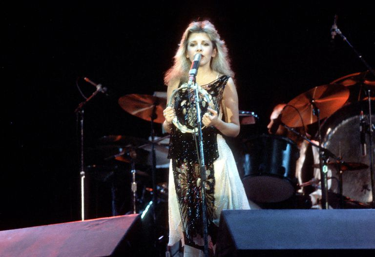 Stevie Nicks performs live in 1981 without her Fleetwood Mac cohorts.