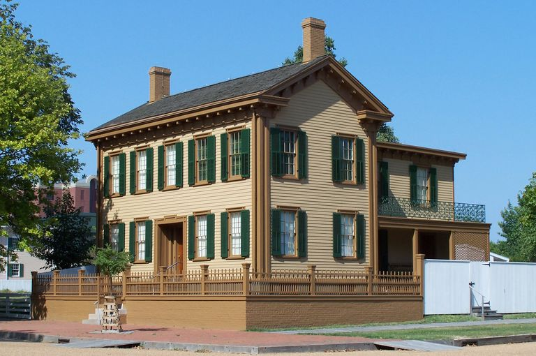 Where Did Abraham Lincoln Live In Springfield