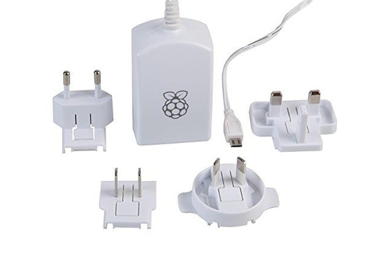 The official Raspberry Pi power supply