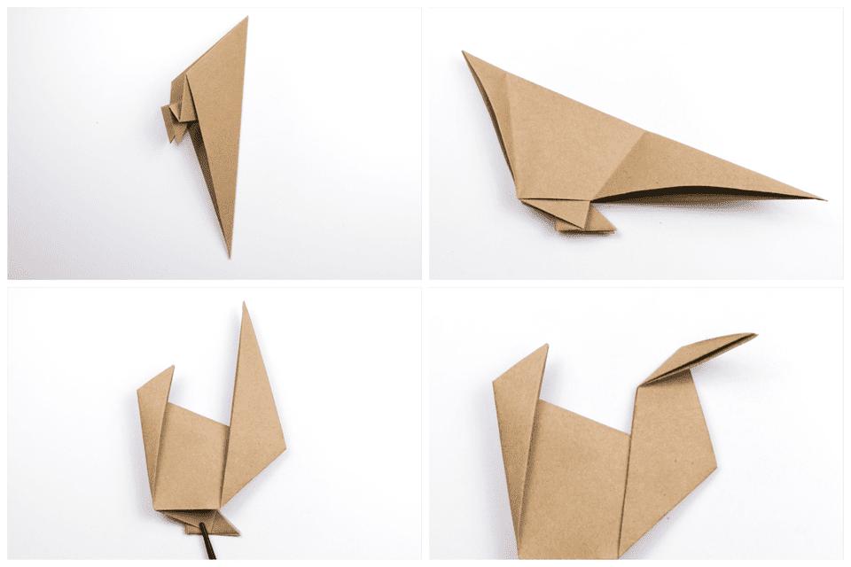 Origami Turkey Tutorial 4