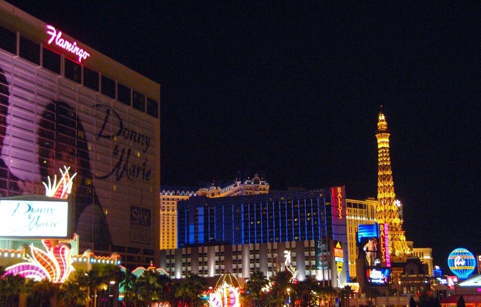 Flamingo Las Vegas Hotel And Casino Right On The Strip